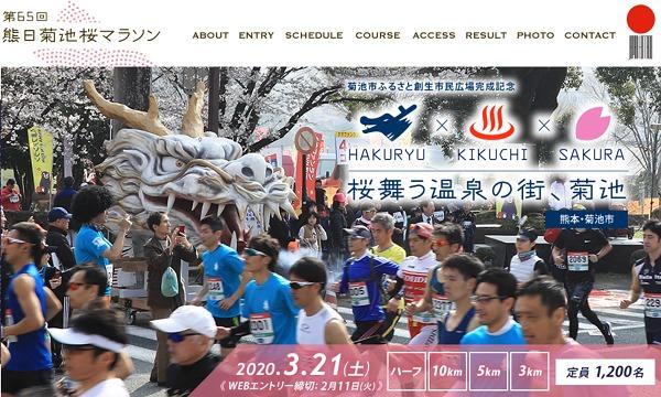 熊日菊池桜ハーフマラソン